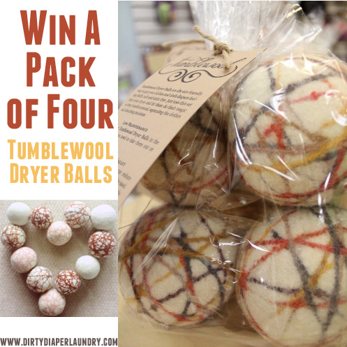 Tumblewool Dryer Balls {Giveaway 4-Pack}