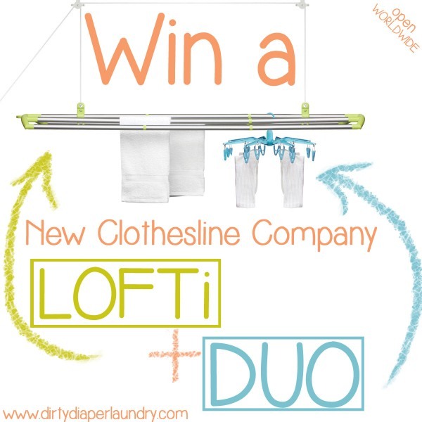 The New Clothesline Company- Line Drying Gets an Upgrade {LOFTi+DUO Giveaway}
