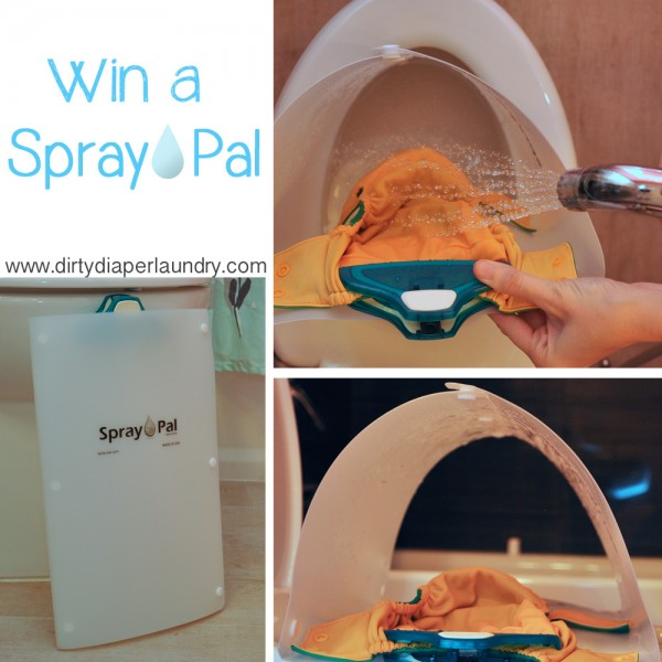 Spray Pal- Keeping Poop Off Your Walls Since 2011 {Giveaway}
