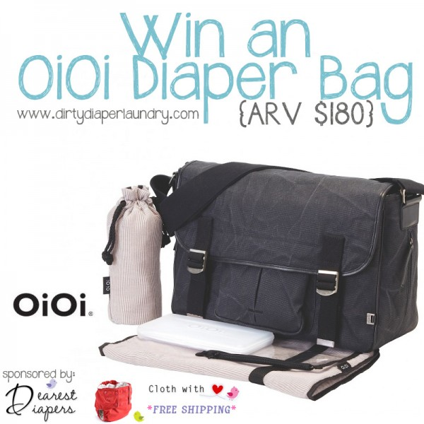 Dearest Diapers OiOi Diaper Bag Giveaway
