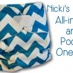 "Nicki's Diapers ""Buy 1, Give 1″- One Size AIO and Pocket Video and Review"