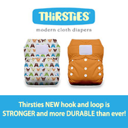Announcing *New and Improved* Hook and Loop on Thirsties Products! {and a giveaway!}