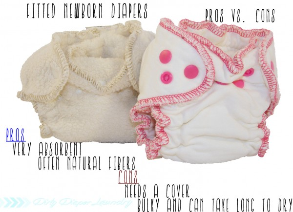 Fitted diapers for newborns pros/cons