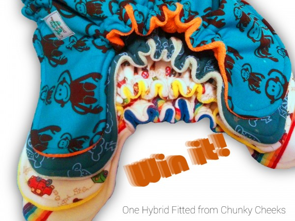 Win a Chunky Cheeks Hybrid Fitted!  {3/18}