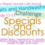 Sales and Specials for the Flats and Handwashing Challenge