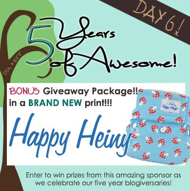 Bonus Day 6: Happy Heiny *just released print* Prize Package