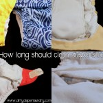 How long should a cloth diaper last?