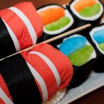 Sushi Cloth Diaper Cake