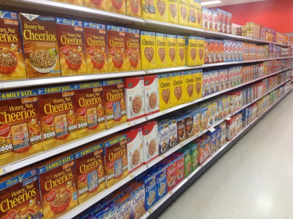Cereal Aisle byFlickr User Jeepers Media, cc