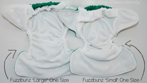 New Fuzzibunz One Size Comparisons