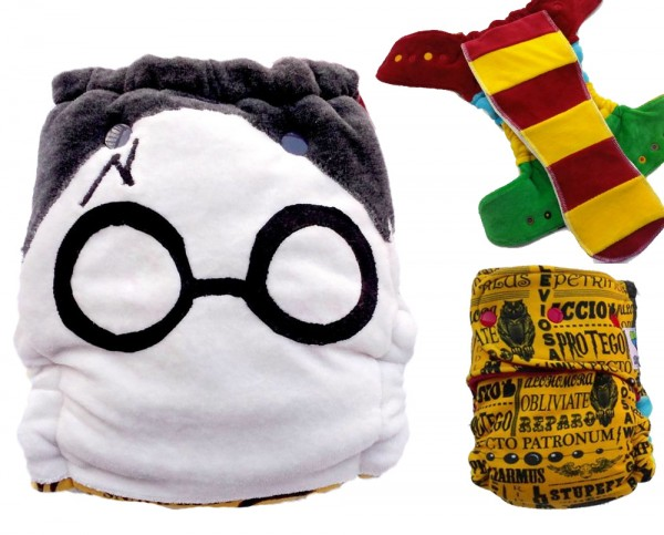Crunchy Love Co Harry Potter Custom Diaper