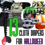 13 Cloth Diapers for Halloween