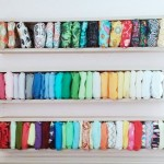 The 6 Kinds of Cloth Diaper Stash Shots