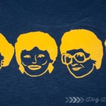 DIY Golden Girls T-Shirt with the Silhouette (Because I Can!)