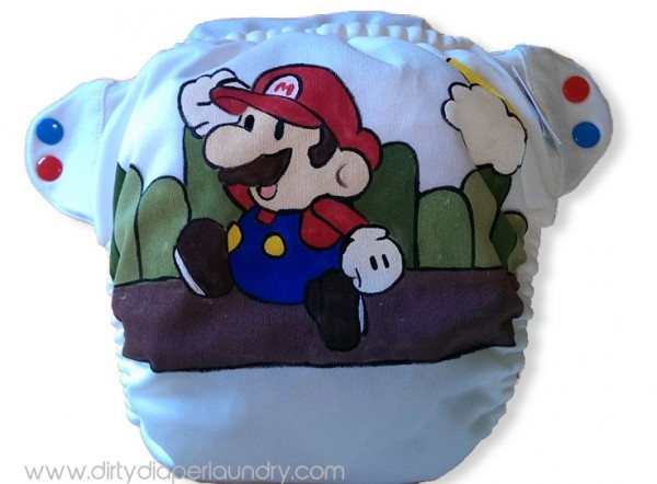 Awesome Mario Diaper