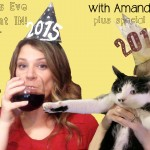Stuck at home for NYE?  Have a Mom's Night IN with Kim and Amanda!