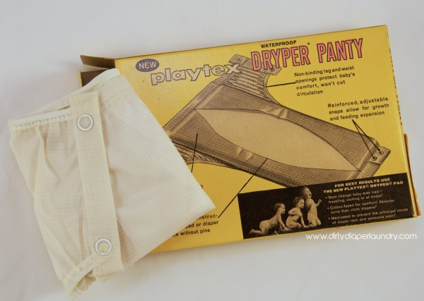 Early Hybrid Cloth Diaper 1950's