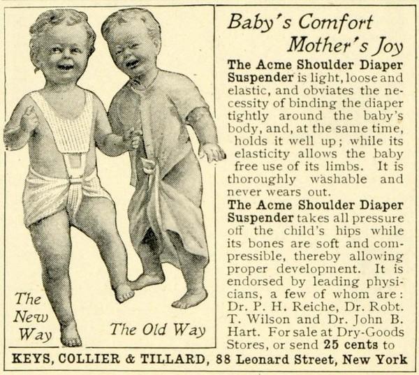 Diaper Suspenders