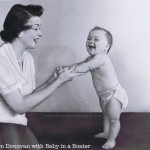 Marion Donovan- Inventor of the Modern Cloth Diaper, The Boater.  1946