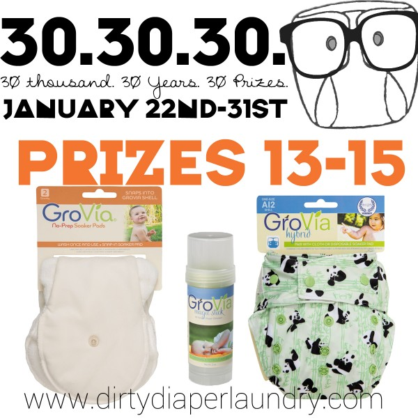 Announcing Prizes 13-15 from GroVia!