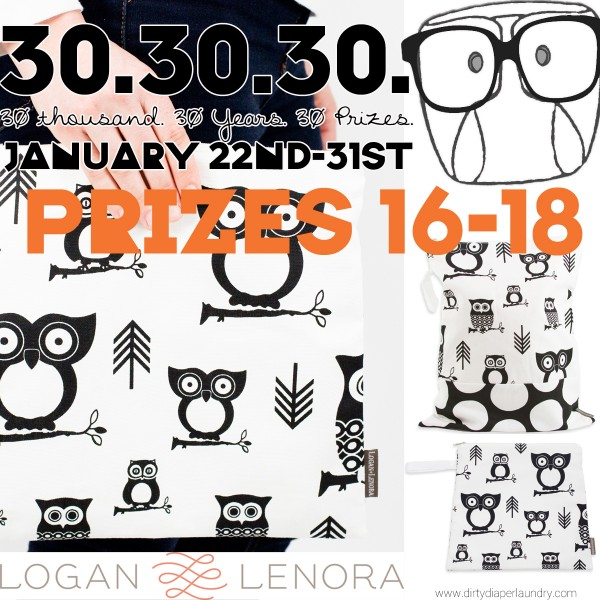 Announcing Prizes 16-18 from Logan+Lenora!