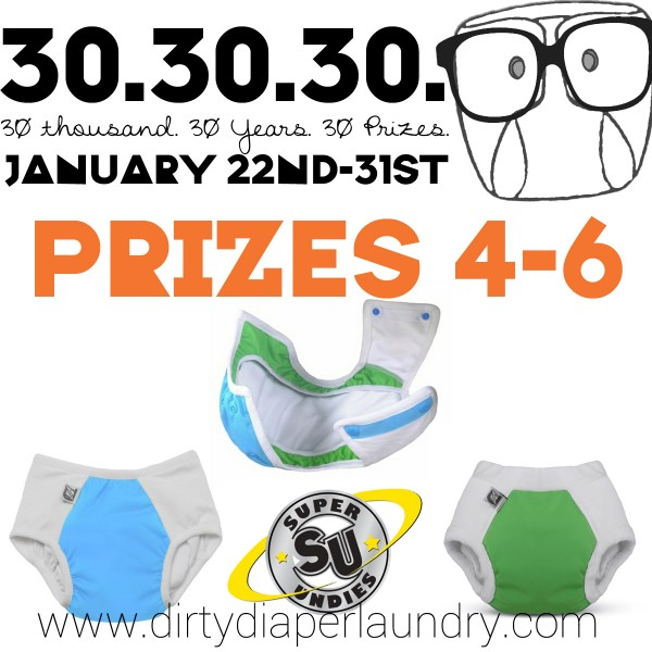 Introducing Prizes 4-6 from Super Undies!