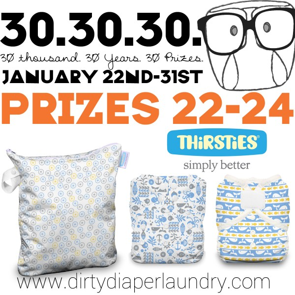 Announcing Prizes 22-24 from Thirsties!