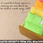 No Ragrets Cloth Diapering- What Would You Do Differently Today?