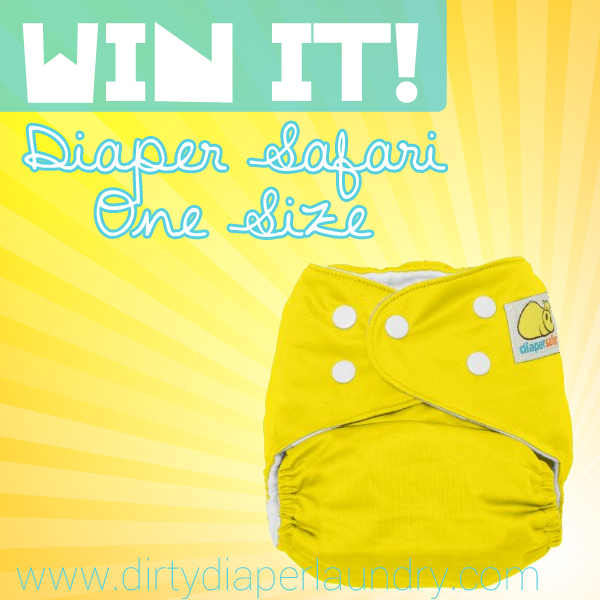 Diaper Safari One Size Pocket Giveaway {2/25}