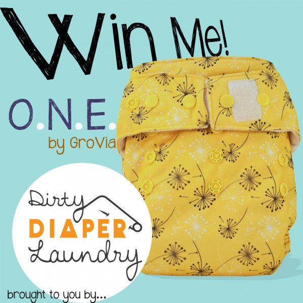 Win it!  A O.N.E. by GroVia in Dandelion!