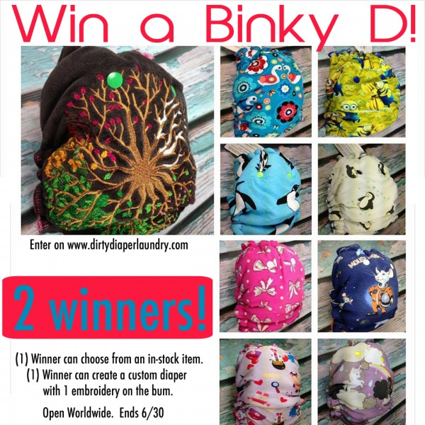 A Binky D Giveaway for Two!