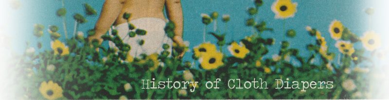 History of Cloth Diapers timeline