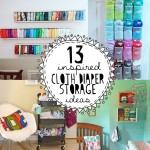 13 Inspired Cloth Diaper Storage Ideas