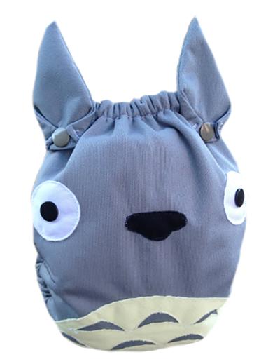 Totoro cloth diaper by Bunzuke