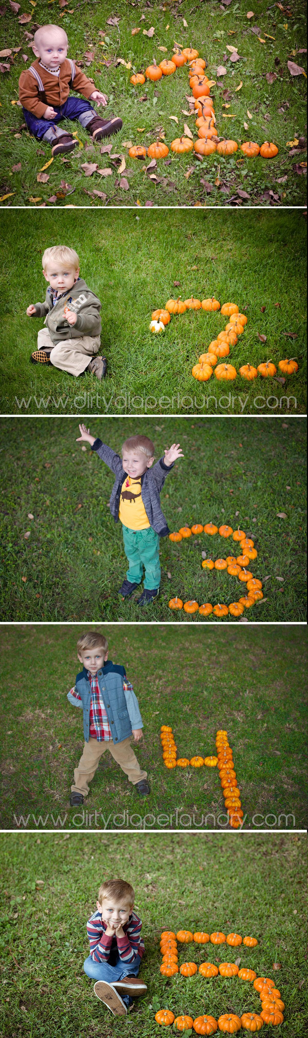 Fall Baby Pumpkin Photos 1-5 years