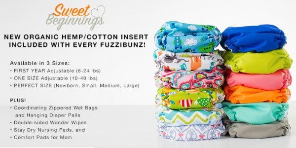 Fuzzibunz Sweet Beginnings One Size- Win it!