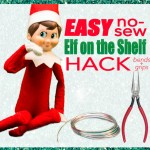 No-Sew Elf on the Shelf Hack {Video}