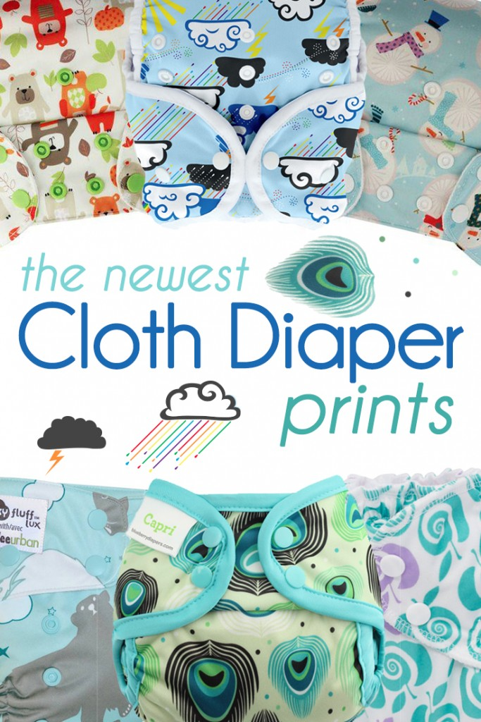 So many new cloth diaper prints have been released this Winter!  A handy reference for anyone who missed them!