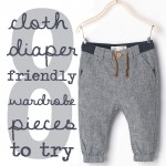 8 Wardrobe Pieces That Work for Cloth Diapered Babies