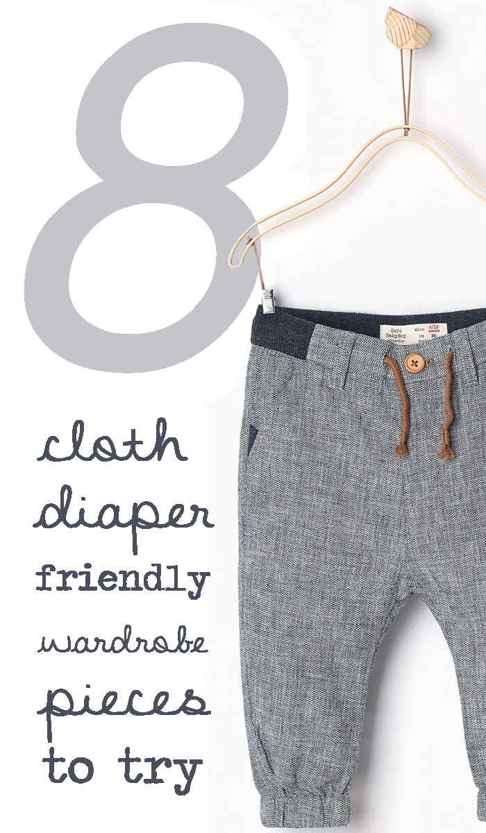 Cloth diaper friendly clothing for babies that fit!