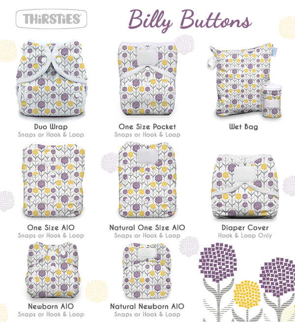 Billy Buttons for Thirsties