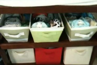 A Peek at my Cloth Diaper Stash