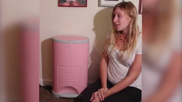 Diaper Dekor Diaper Pail Video and Review