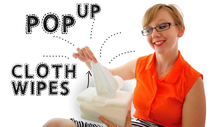 Make Your Cloth Wipes POP!  Pop-Up Wipes Video
