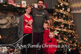 Rosas Family Christmas 2013- The Video
