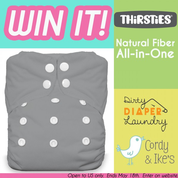 Thirsties Natural Fiber AIO Giveaway from Cordy & Ikes!