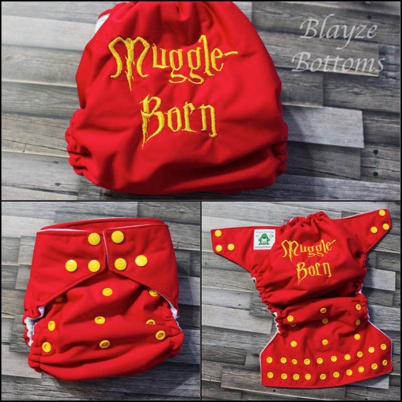 Muggle Born cloth diaper