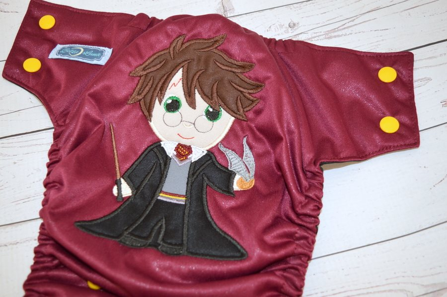 Harry Potter cloth diaper