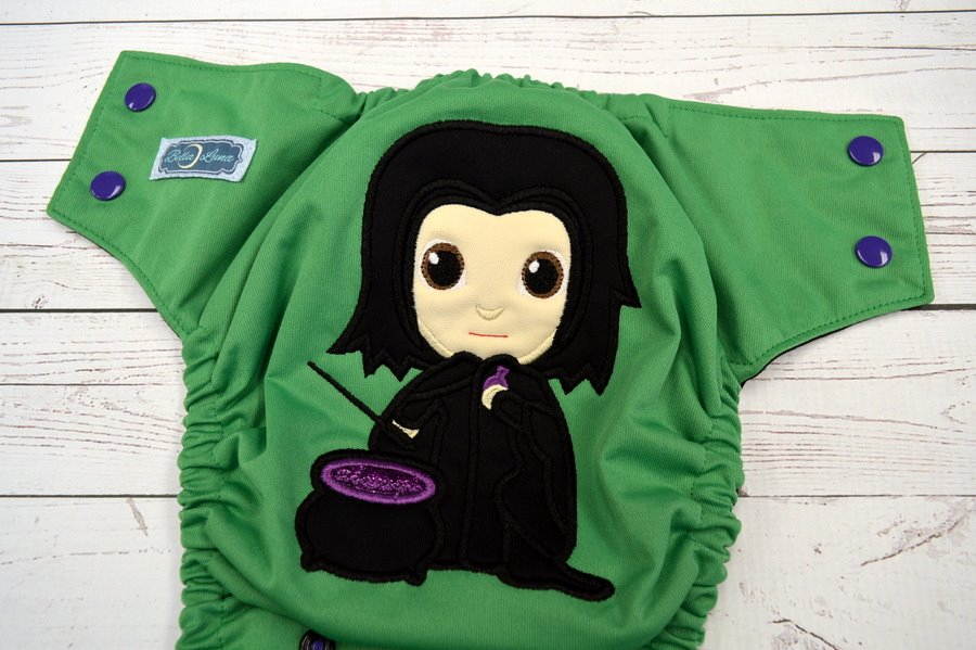 Snape cloth diaper