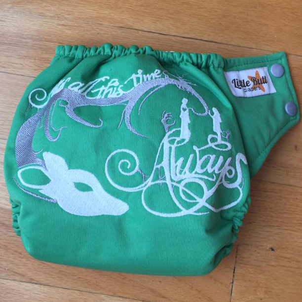 Always cloth diaper from Harry Potter